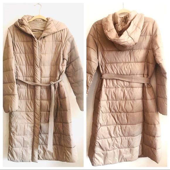 Cole Haan Signature Lightweight Long Puffer Coat